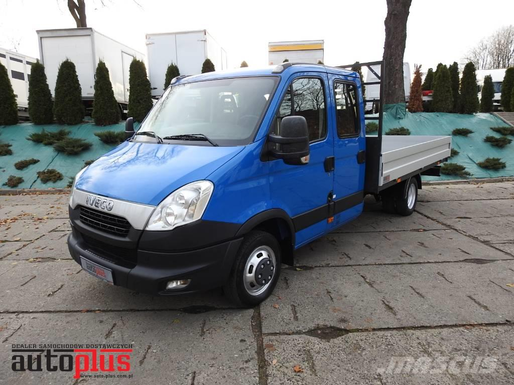 used iveco daily 35c15 stake body doublecab 7 seats webasto pickup trucks year 2012 price. Black Bedroom Furniture Sets. Home Design Ideas