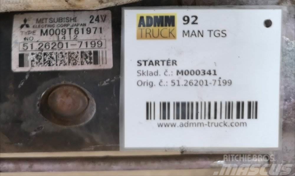 MAN TGS STARTÉR 51.26201-7199
