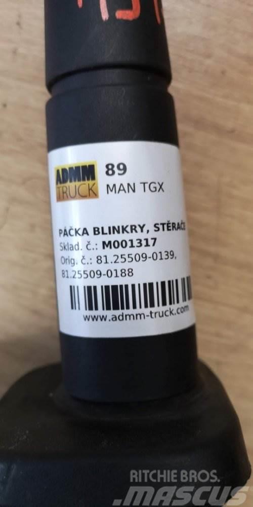 MAN TGX PÁČKA BLINKRY, STĚRAČE 81.25509-0139, 81.25509