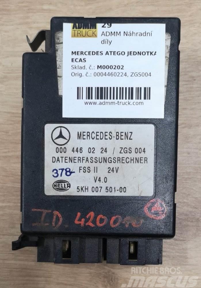 Mercedes-Benz ATEGO JEDNOTKA ECAS 0004460224, ZGS004