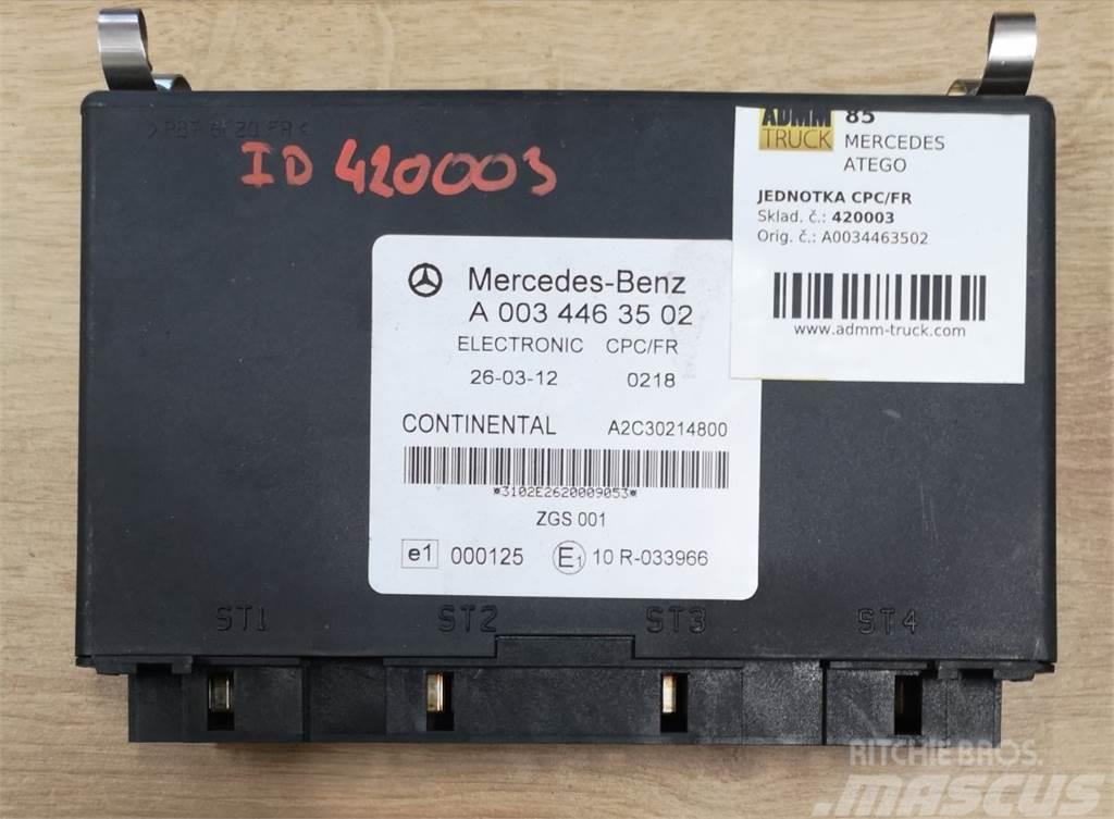 Mercedes-Benz ATEGO JEDNOTKA CPC/FR A0034463502