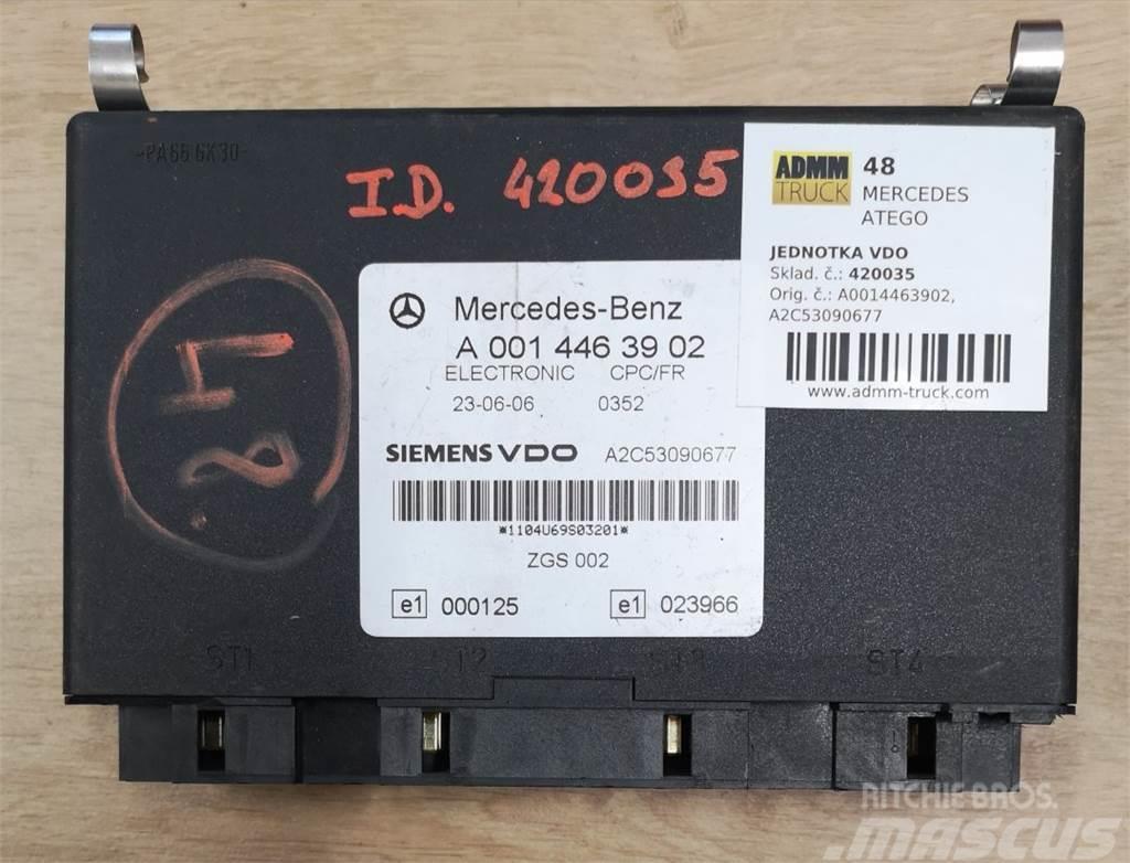 Mercedes-Benz ATEGO JEDNOTKA VDO A0014463902, A2C53090677