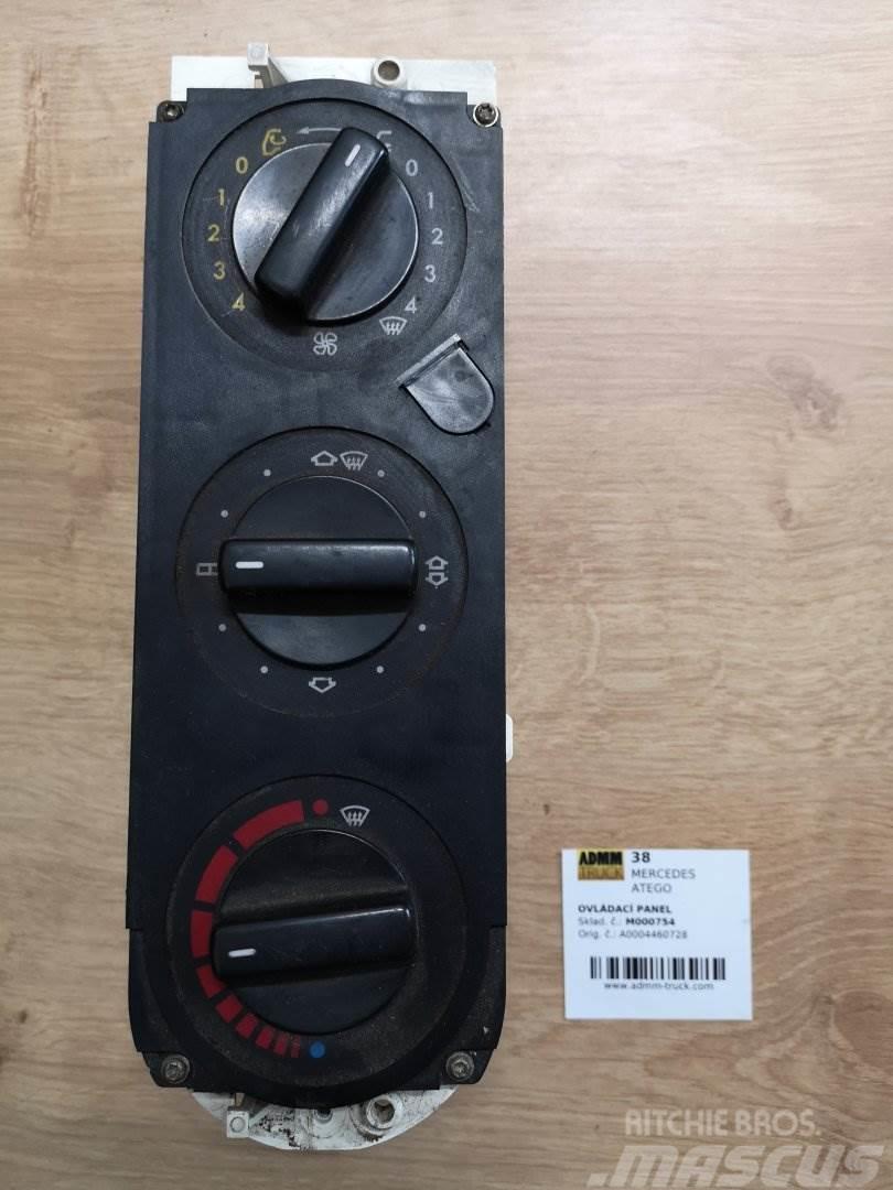 Mercedes-Benz ATEGO OVLÁDACÍ PANEL A0004460728