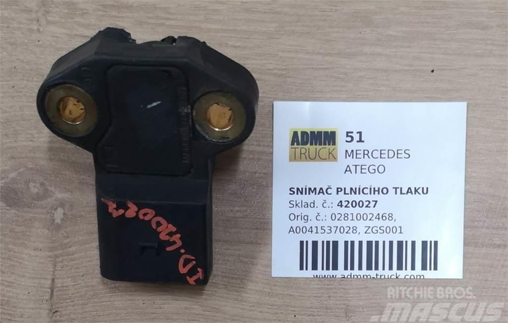 Mercedes-Benz ATEGO SNÍMAČ PLNÍCÍHO TLAKU 0281002468, A004153702