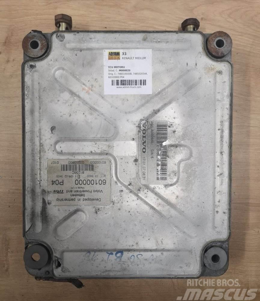 Renault MIDLUM JEDNOTKA MOTORU 7460100008, 7485020544, 601