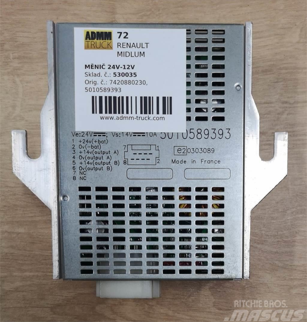 Renault MIDLUM MĚNIČ 24V-12V 7420880230, 5010589393