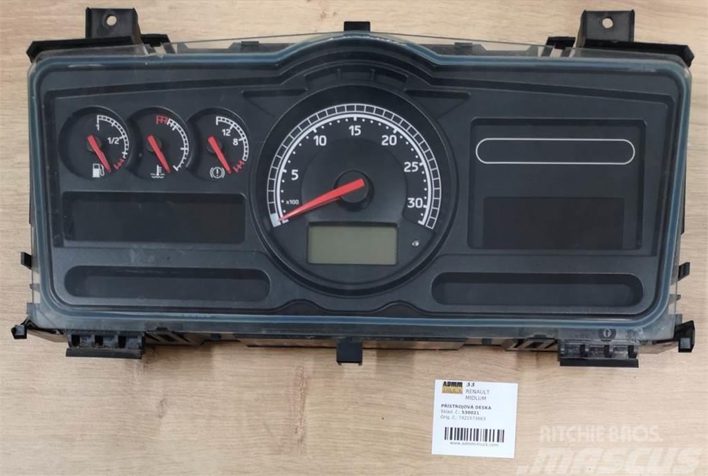 Renault MIDLUM PŘÍSTROJOVÁ DESKA 7421573663
