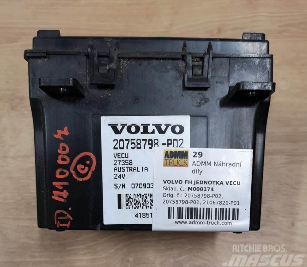Volvo FH JEDNOTKA VECU 20758798-P02, 20758798-P01, 21067