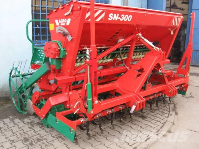 Agro Masz SN300 + ANU30 Sowing Set Packer Roller