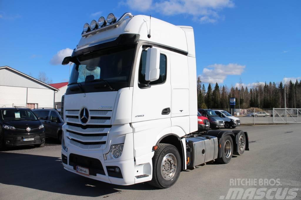 Mercedes-Benz Actros 2553 LS 6x2