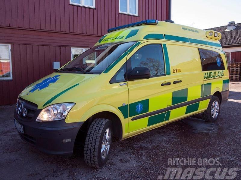 Mercedes-Benz Vito 116 CDI  ambulance - RESERVERAD for Estonia