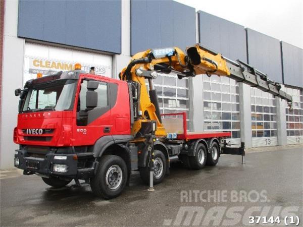 Iveco Trakker AT410T50 8x4 Effer 175 ton/meter Kran