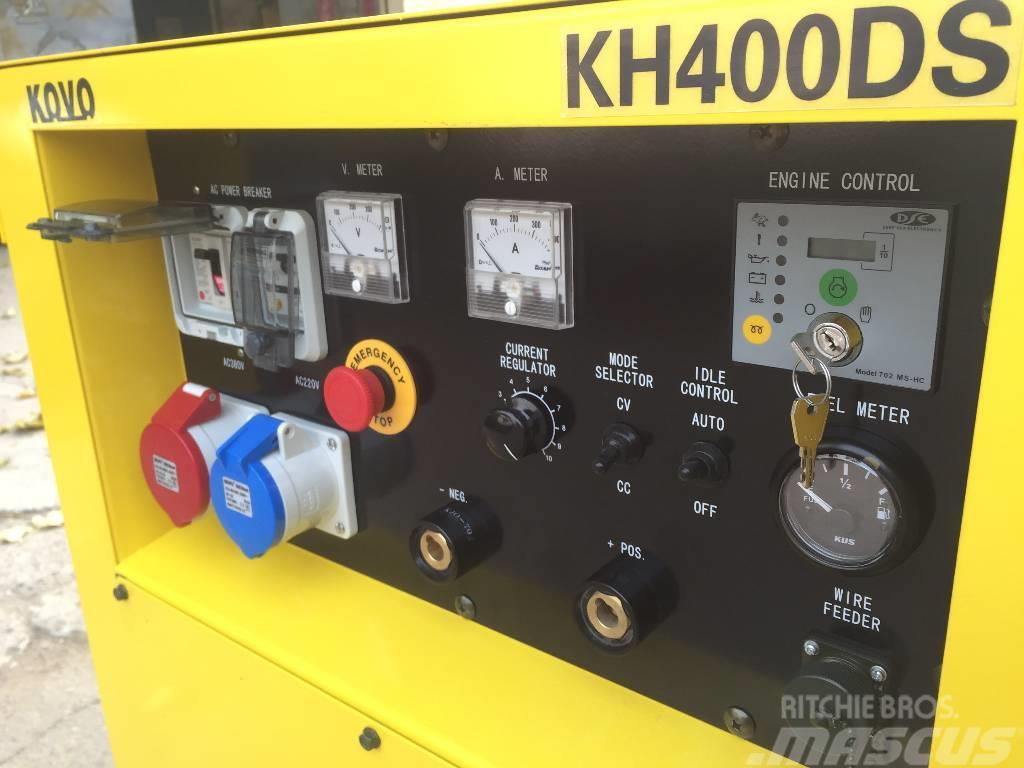 Kovo DIESEL WELDER 科沃发电电焊一体机 KH400DS