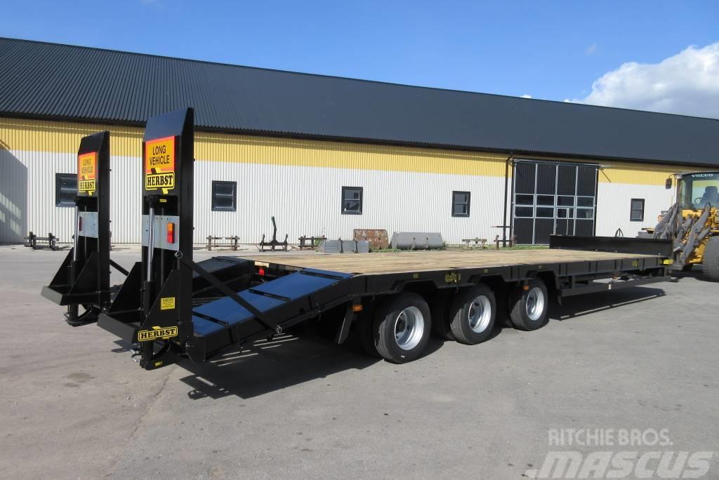 Herbst maskintrailer för traktor, 10 m, 23 tons