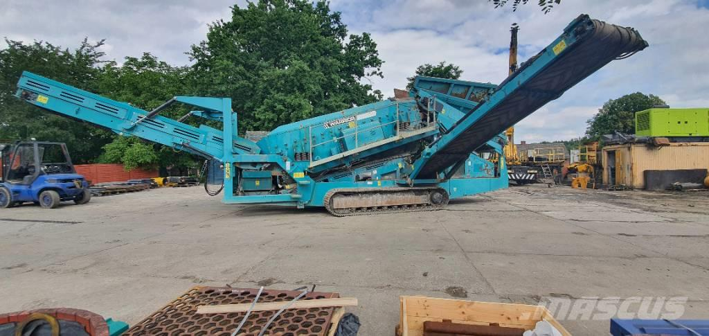 PowerScreen Warrior 1800 double deck sceeener