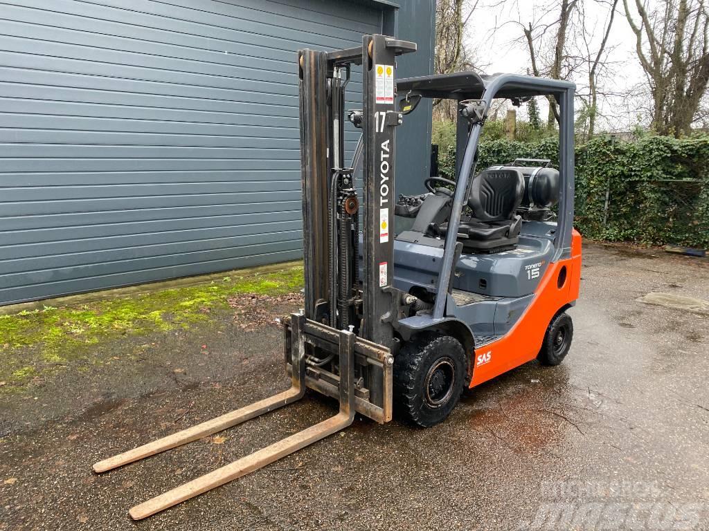 Toyota 06-8FG18F 1.8 ton | Freelift