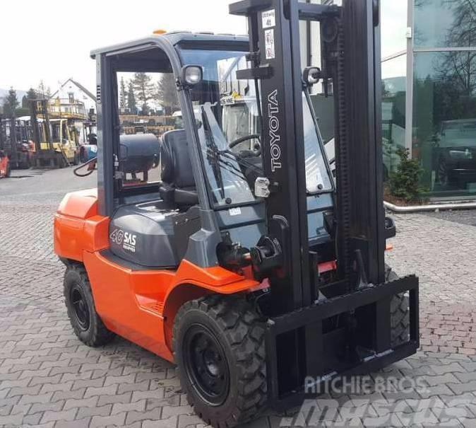 Toyota 027FG35 02-7FG35 4000kg 3300mm LPG as Linde