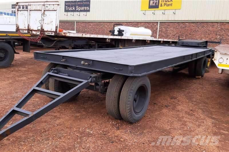 [Other] Reconditioned 2 Axle Drawbar Trailer