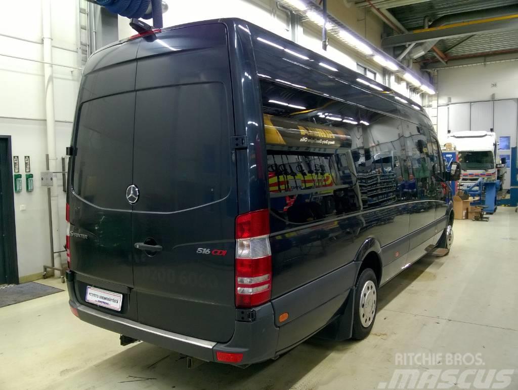 mercedes benz sprinter linja auto 516cdi 5 0 43k. Black Bedroom Furniture Sets. Home Design Ideas