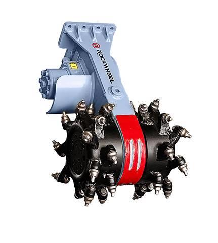 Rockwheel C2 hydraulic milling machine excavator mill