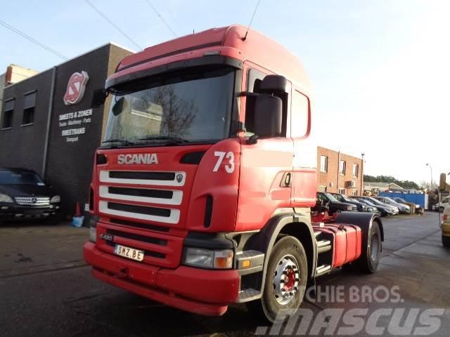 Scania G 420 highline hydraulic Retarder