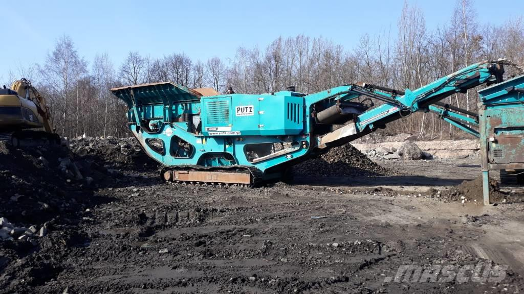 Terex Pegson XR400S jaw crusher