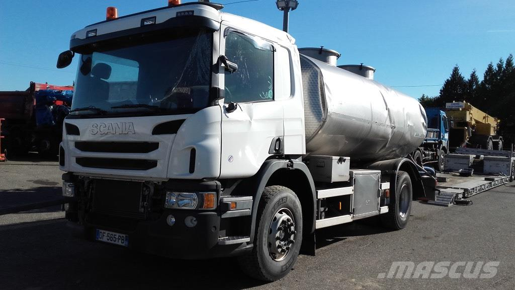 Scania P400 *ACCIDENTE*DAMAGED*UNFALL*
