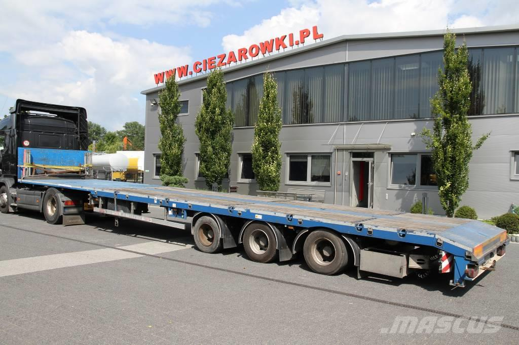 Es-ge EXTENDABLE SEMI-TRAILER 21M 3.VOU 40 T
