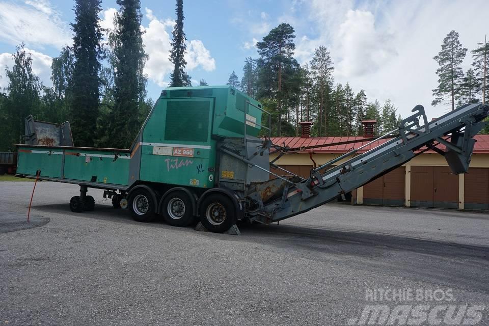Jenz AZ960 Titan XL