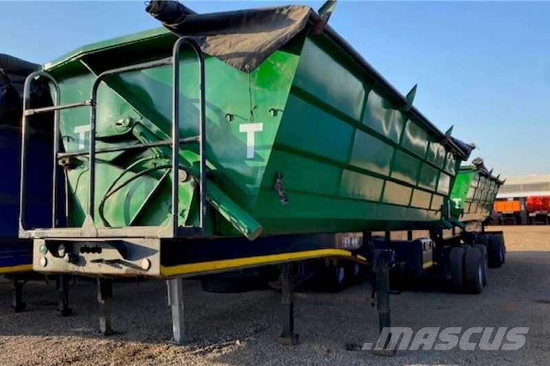 Roadhog 45m³ Interlink Side Tipper Trailers