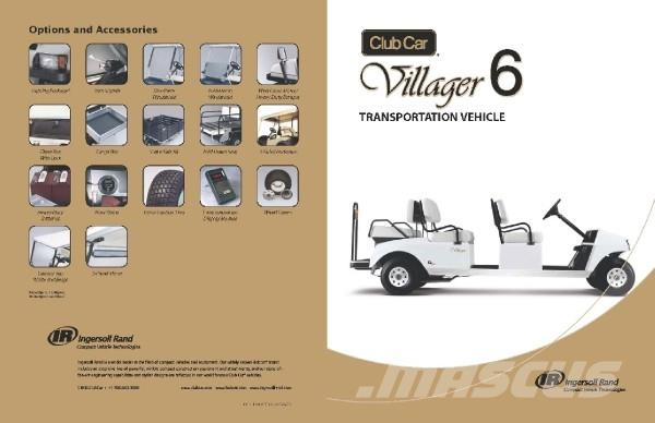 Club Car Villager 6 Electric
