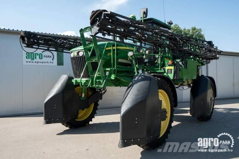 John Deere 4730 (295/953 hours) Sprayer with ground clearance