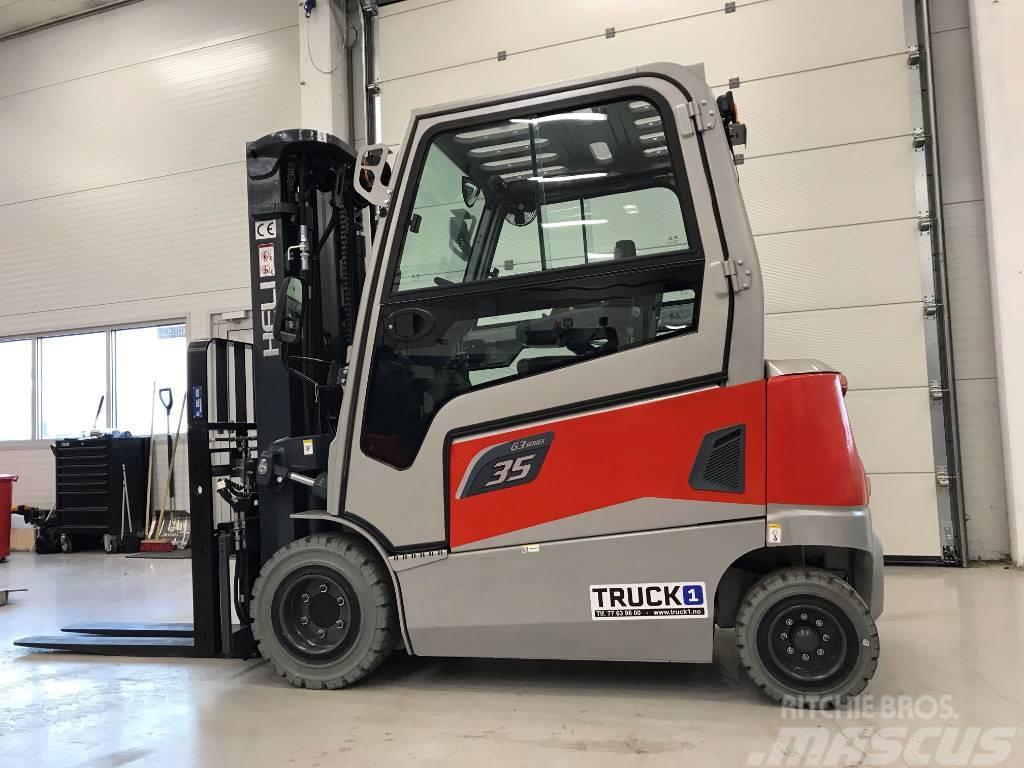 Heli CPD35-GD2D - 3,5 t el. truck - 4,7 m LH (PÅ LAGER)
