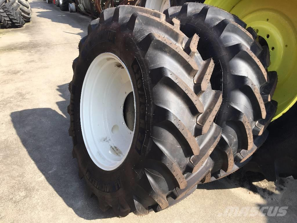 Michelin Omnibib 420/70R28 & 520/70R38