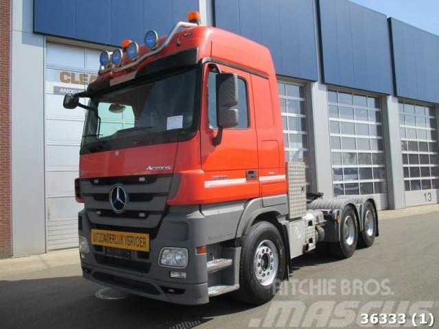 Mercedes-Benz Actros 2660 V8 6x4 Euro 5 Intarder Kyphydraulic 12