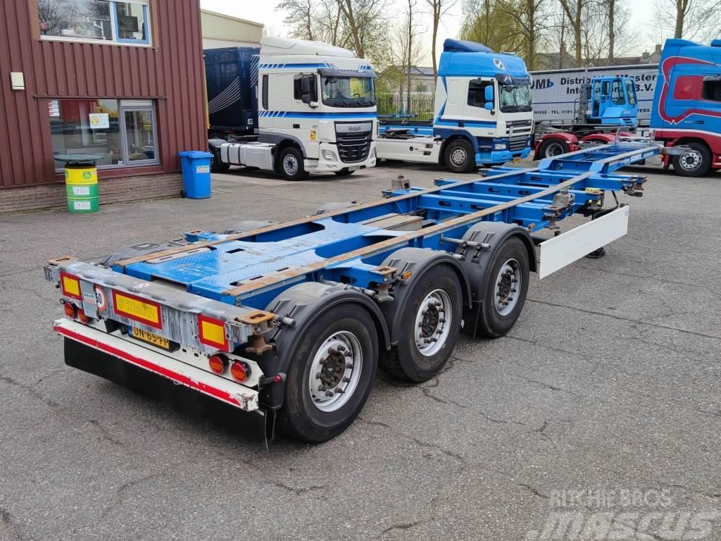 Schmitz Cargobull SGF*S3 - 3 assen SAF - Discbrakes - LiftAxle - All