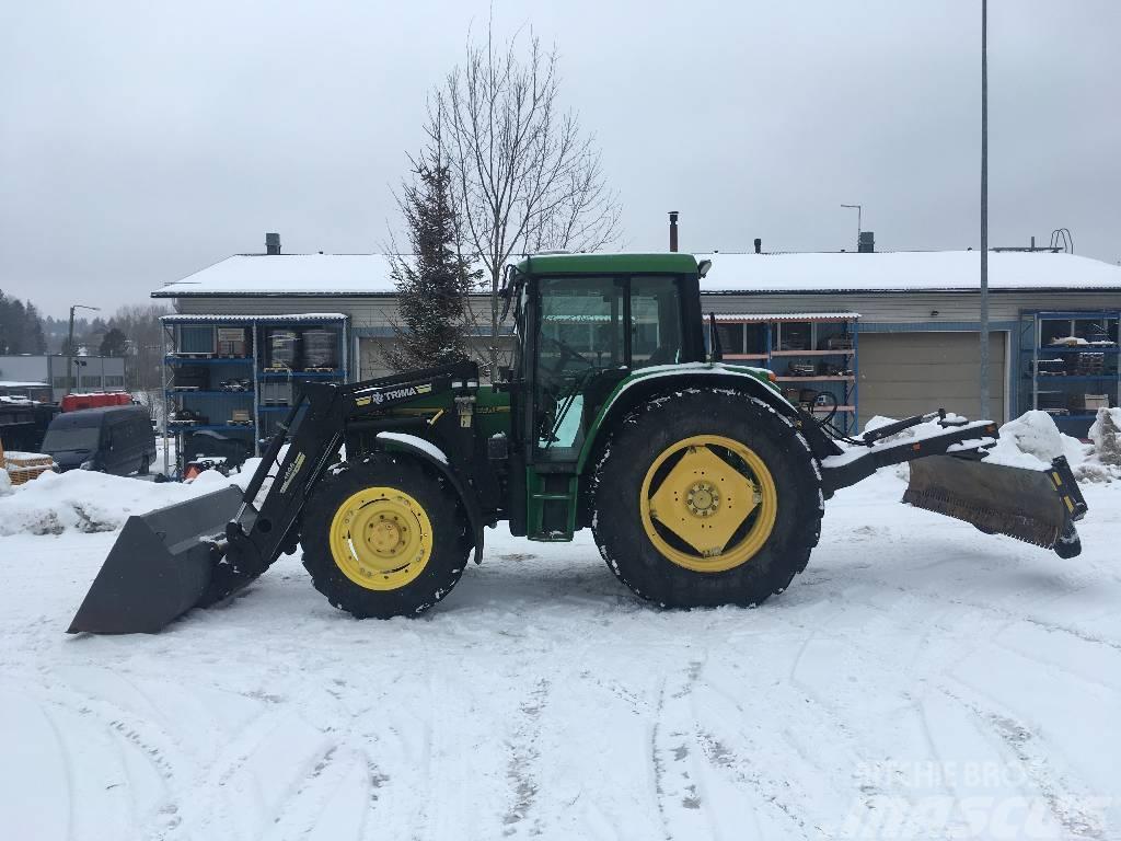 John Deere 6400, 1995, Tractors ...