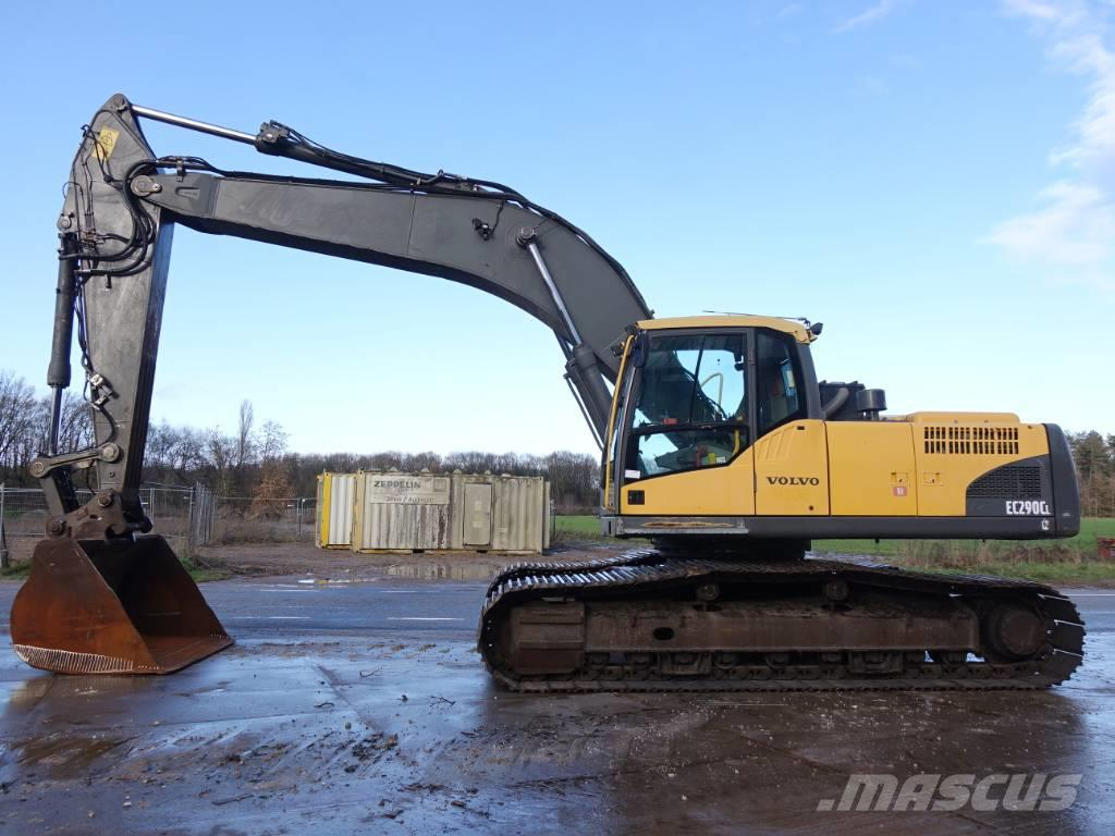 Volvo EC290CL Dutch machine / good condition