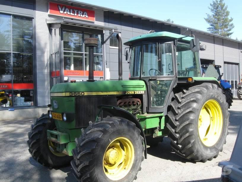 Used John Deere 3650 tractors Year: 1991 Price: $17,187 for sale - Mascus USA