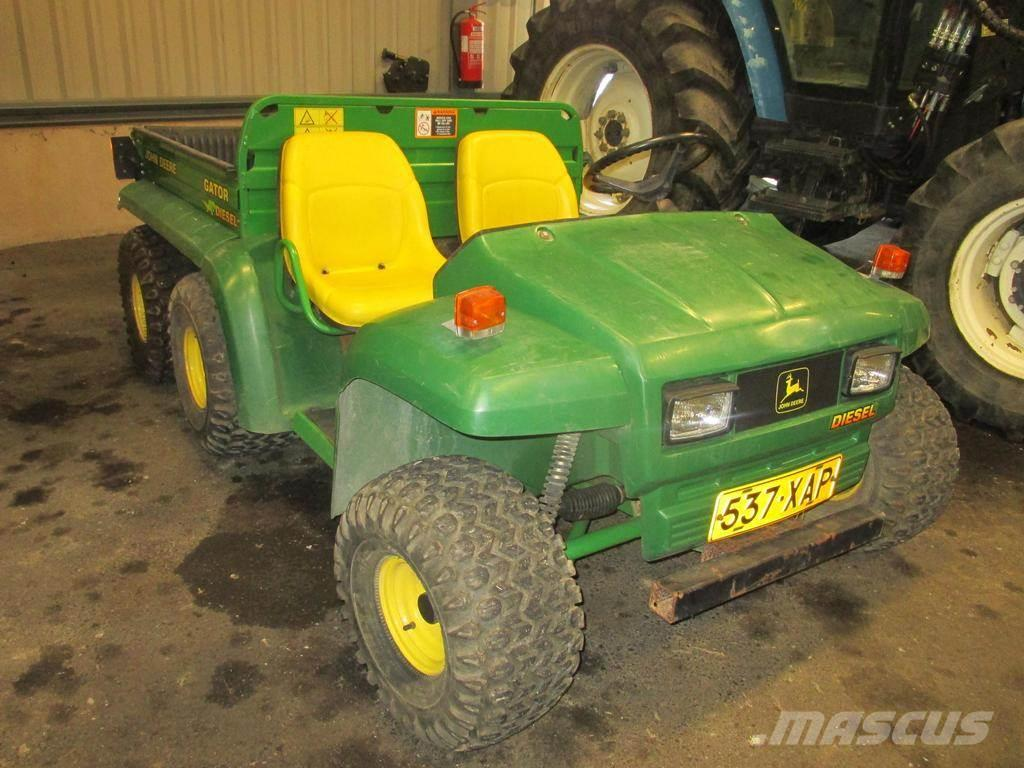 john deere gator 6x4 diesel preis atv quad. Black Bedroom Furniture Sets. Home Design Ideas