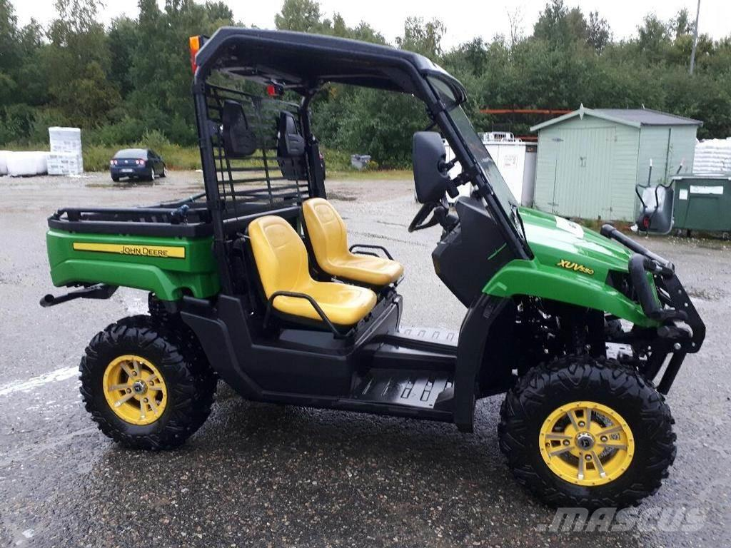 used john deere gator xuv 550 4x4 kelt vi atvs year 2014 price 9 509 for sale mascus usa. Black Bedroom Furniture Sets. Home Design Ideas