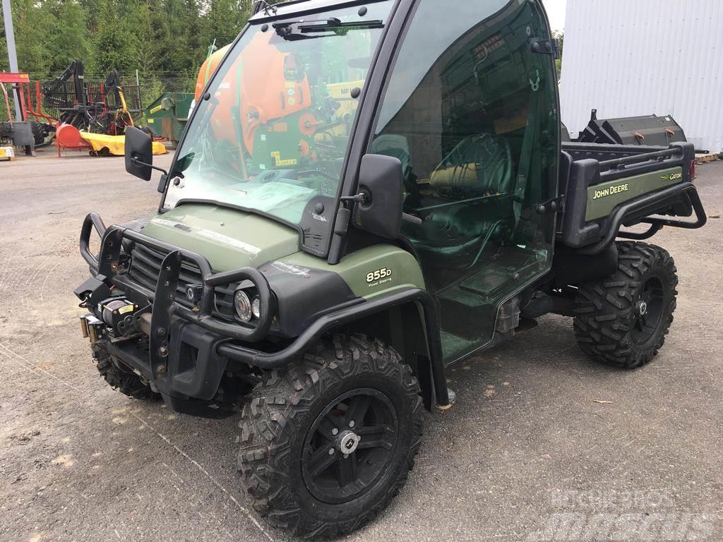 John Deere Gator For Sale >> John Deere Gator Xuv 855d