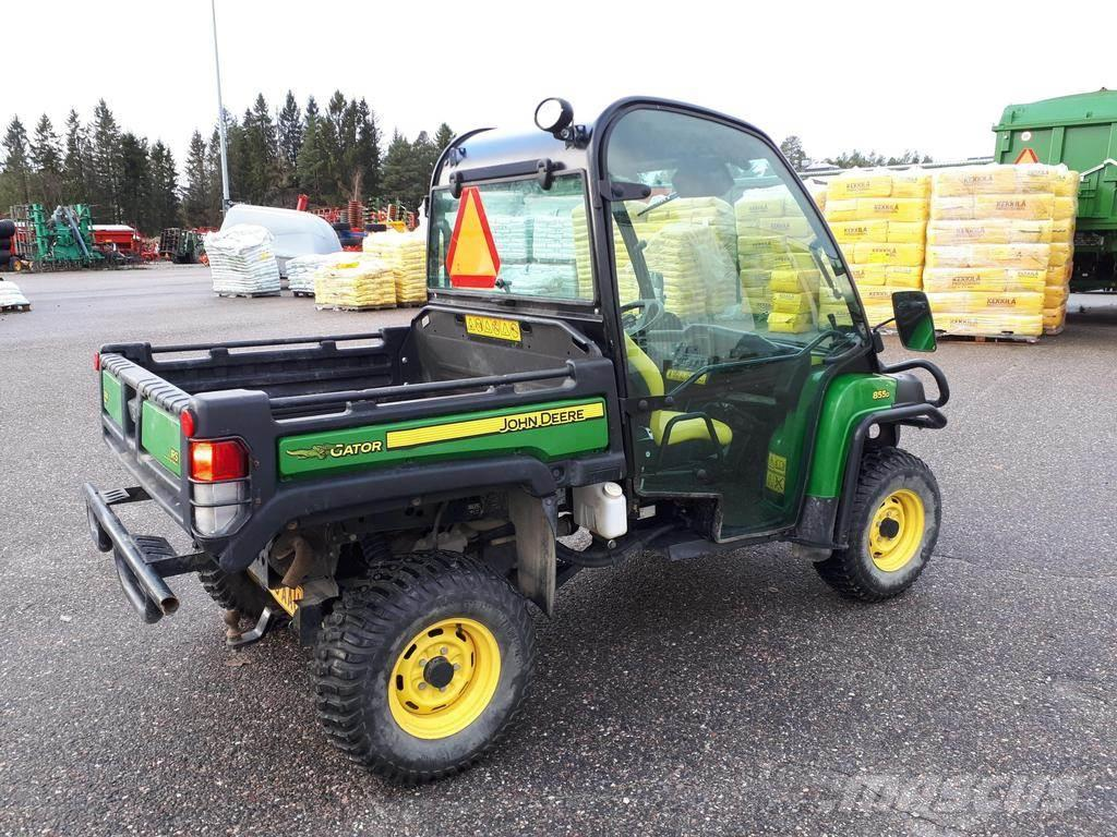 John Deere Gator >> John Deere Gator Xuv 855d Atvs Price 15 210 Year Of