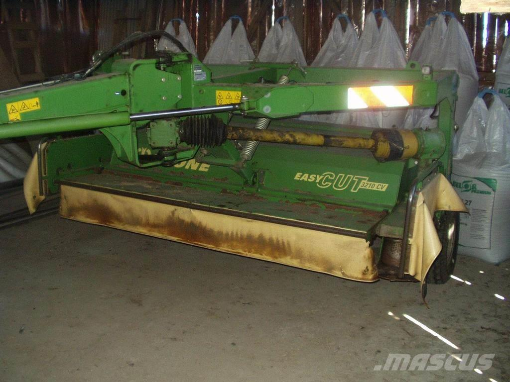 used krone 3210 cv mower