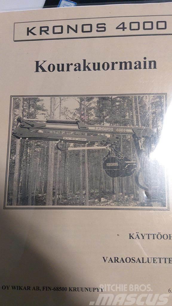 Kronos 4000L HYDRAULINEN ESIOHJA