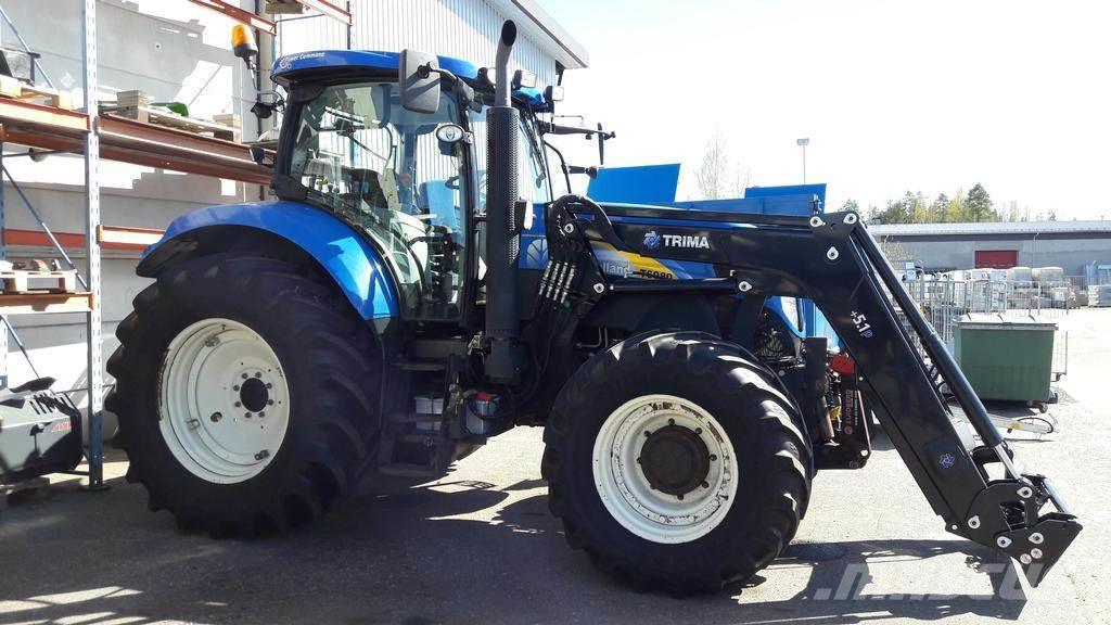 New Holland T6080PC+TRIMA+ETUVUO+NOS