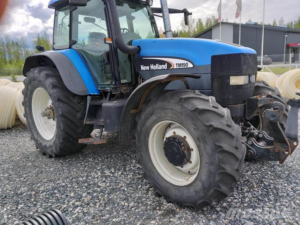 New Holland TM190+ETUNOSTOLAITE