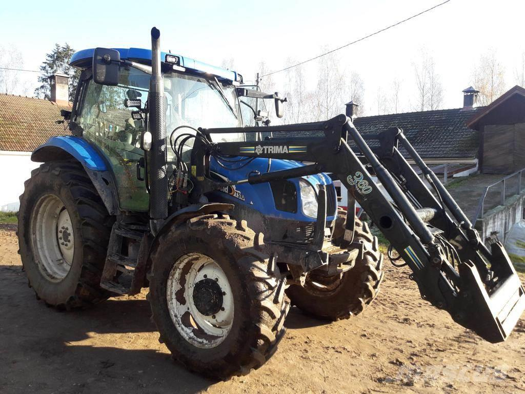 New Holland TS100A + TRIMA 3.60