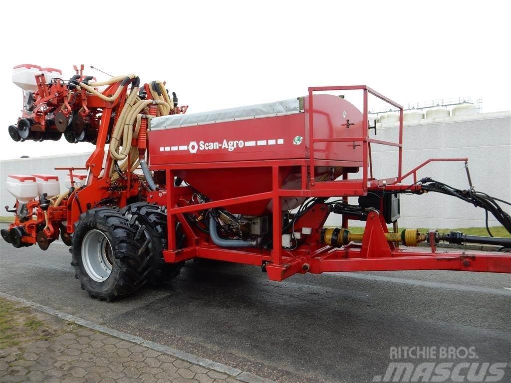 Gaspardo Manta 12 RK med Scan/Caddy gødningsvogn