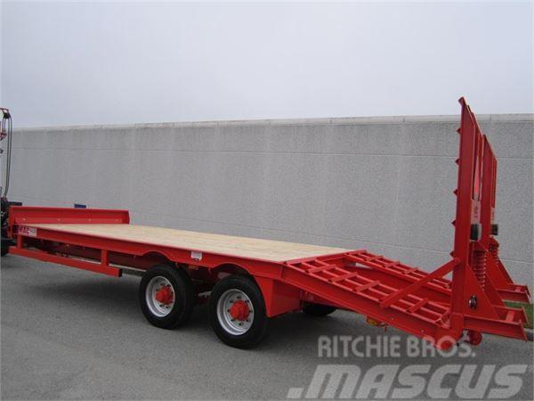MAC 12 tons maskintrailer